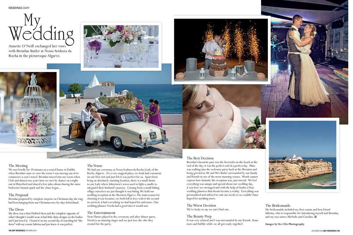 Revista Social and Personal Weddings